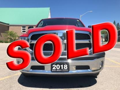 2018 RAM 1500 Sxt 4x4....bluetooth*backup Cam! at Vance Motors in Bancroft, Ontario