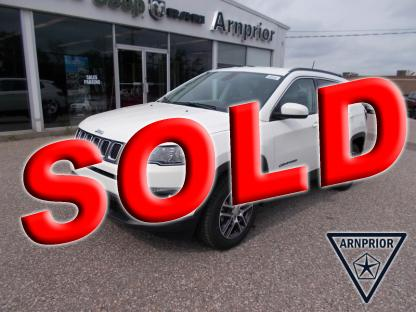 2018 Jeep Compass North 4X4 at Arnprior Chrysler in Arnprior, Ontario