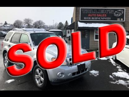2012 Ford Escape XLT  at Tallen's Auto Sales in Kingston, Ontario