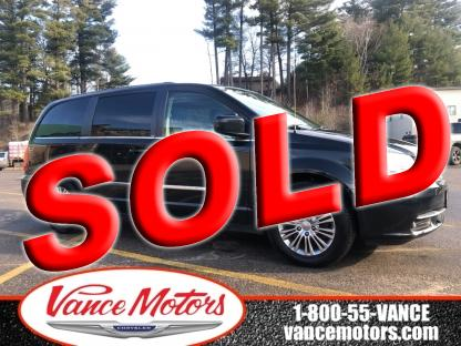2014 Chrysler Town & Country Touring-L...leather*htd SEats*backup Cam at Vance Motors in Bancroft, Ontario
