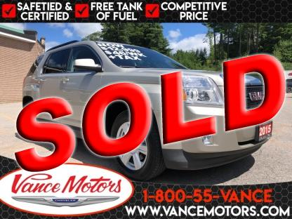 2015 GMC Terrain Sle-2...backup Cam*htd SEats*tow! at Vance Motors in Bancroft, Ontario