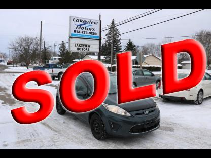 2011 Ford Fiesta  SE Hatchback 4D at Lakeview Motors in Westport, Ontario
