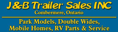 J&B Trailer Sales in Combermere, Ontario