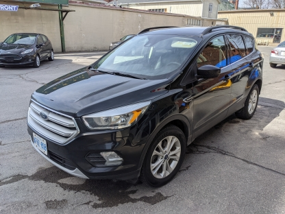 2018 Ford Escape SE EcoBoost at Clancy Motors in Kingston, Ontario