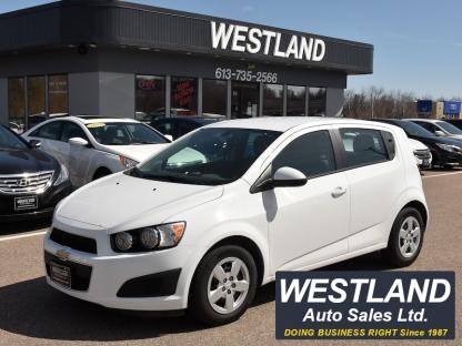 2014 Chevrolet Sonic LS at Westland Auto Sales in Pembroke, Ontario