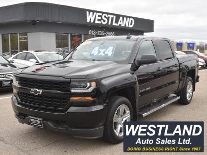 2018 Chevrolet Silverado 1500 4X4 CrewCab at Westland Auto Sales in Pembroke, Ontario