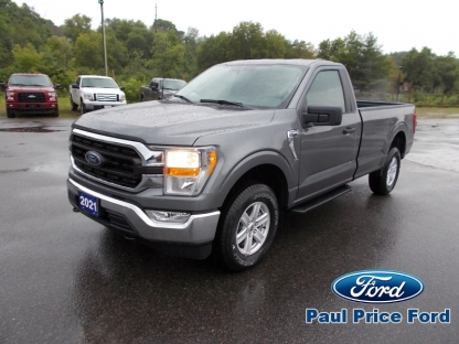 2021 Ford F-150 XLT Regular Cab 4X4 at Paul Price Ford in Bancroft, Ontario