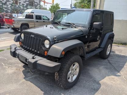 2010 Jeep Wrangler Sport 2Door 4x4 at Clancy Motors in Kingston, Ontario