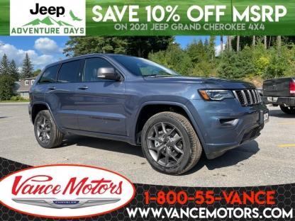 2021 Jeep Grand Cherokee 80th Anniversary Edition 4x4...v6*leathe at Vance Motors in Bancroft, Ontario