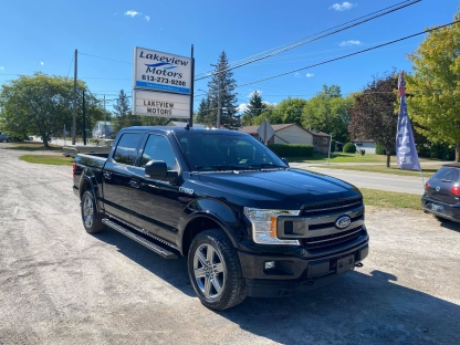 2018 Ford F-150 XLT SPORT CREW CAB 4X4 at Lakeview Motors in Westport, Ontario