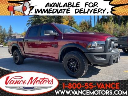 2021 RAM 1500 Classic Warlock 4x4...v6*tow*backup Cam! at Vance Motors in Bancroft, Ontario