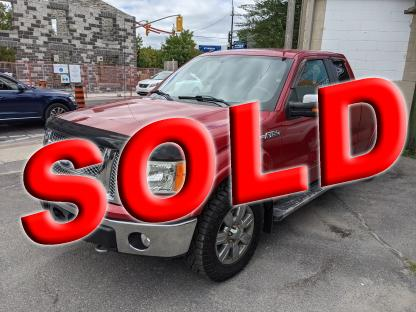 2010 Ford F-150 Lariat SuperCab 4x4 at Clancy Motors in Kingston, Ontario